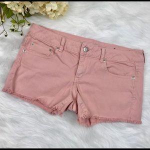 Size 12 American Eagle Cutoff Frayed Hem Shorts